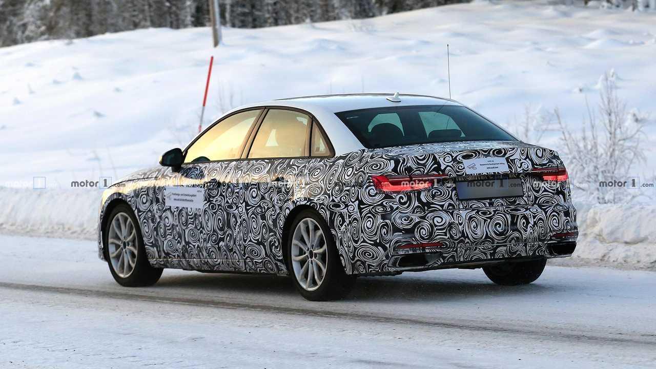 Makyajlı 2019 Audi A4 Sedan Casus Fotoğraflar