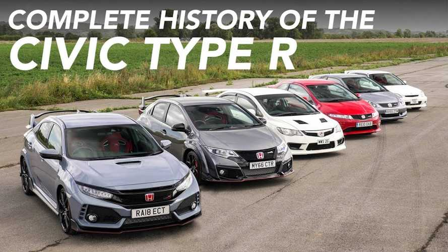 All generations of Honda Civic Type R driven and compared