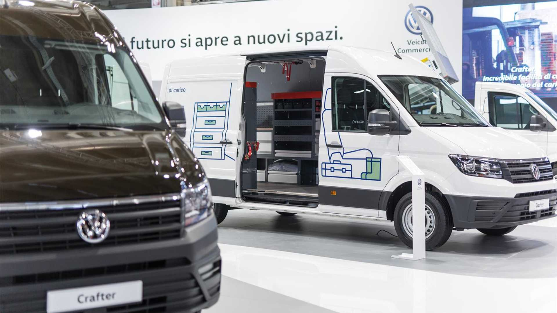 Volkswagen Crafter Electric protagonista a Transpotec 2019