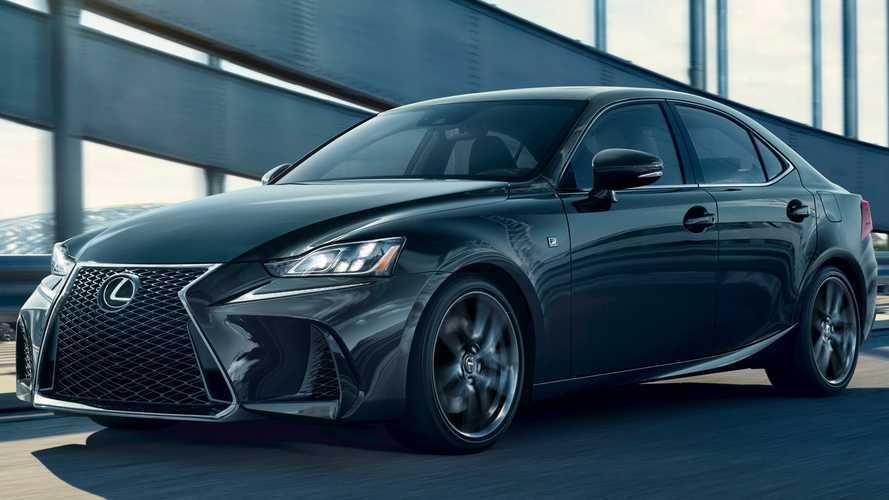 Black Line változatban is elérhető lesz a Lexus IS 300 F Sport