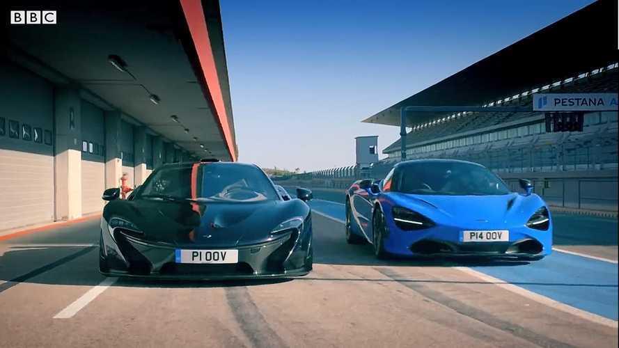 VIDEO - Que vaut la McLaren 720S face à la McLaren P1 ?