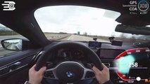 BMW 840d'nin Otobandaki Hızlanma Denemeleri