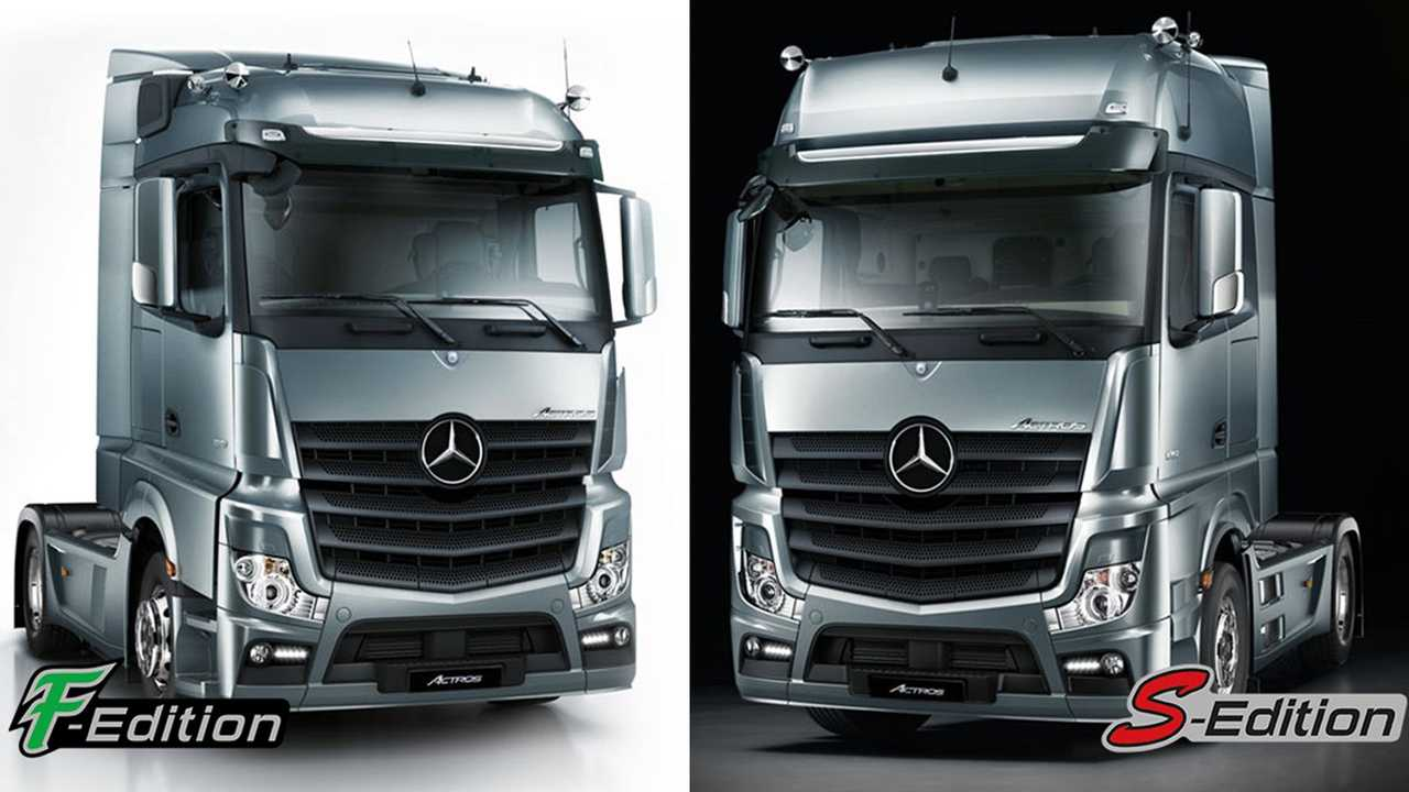 MB Actros 4 F-Edition S-Edition