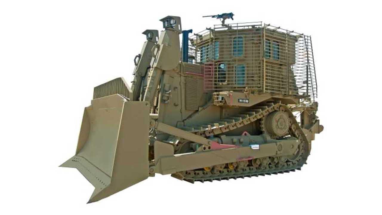 IDF Caterpillar D9R armored bulldozer