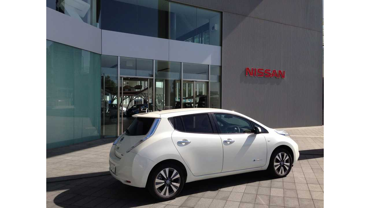LEAF Sales Stall in Japan as US Becomes Nissan's Overall Sales Leader For The EV