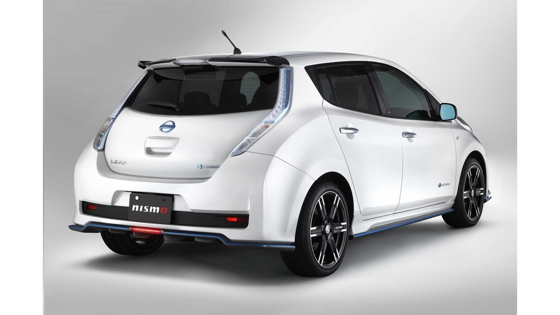 Nismo Your LEAF For About $10,000, Or Just Swap The VCM And Get More