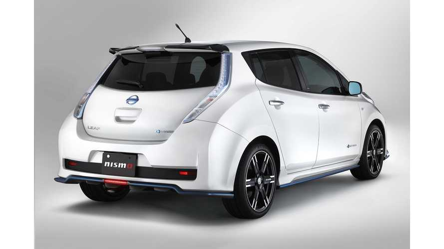 Nismo Your LEAF For About $10,000, Or Just Swap The VCM And Get More Performance For $1,385