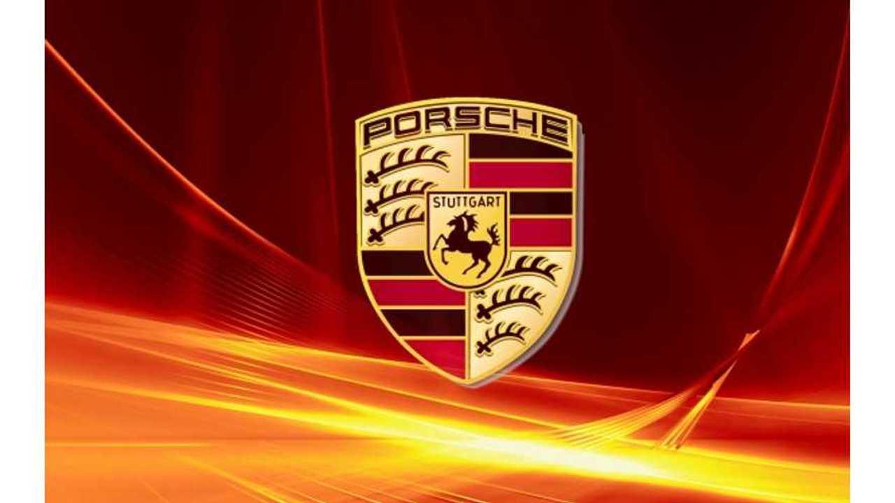 Porsche Electric Prototype Catches Fire