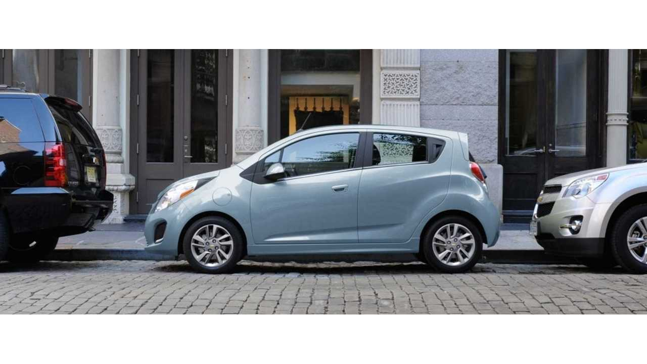 First Test Drive Review Of Chevrolet Spark EV