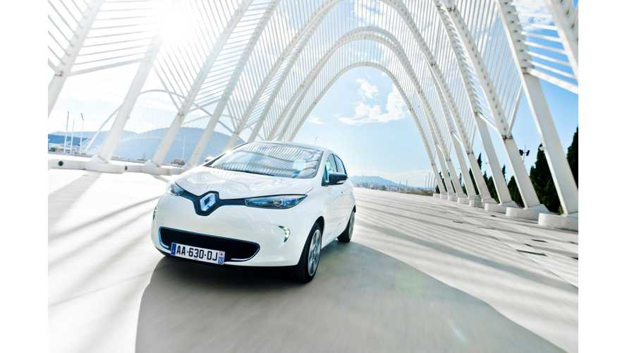 Renault's Dreams Come True as It Becomes the Electric Vehicle Sales Leader in Europe