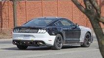 Ford Mustang Bullitt Test Vehicle Spy Shots