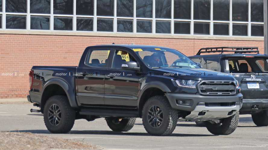 Ford Ranger Raptor Spy Photos