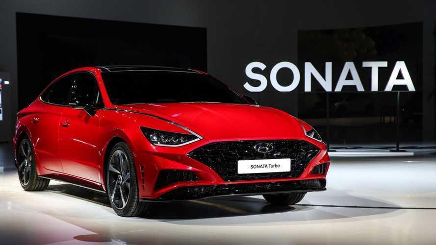 2019 Hyundai Sonata Turbo ve Sonata Hybrid, Kore'de tanıtıldı
