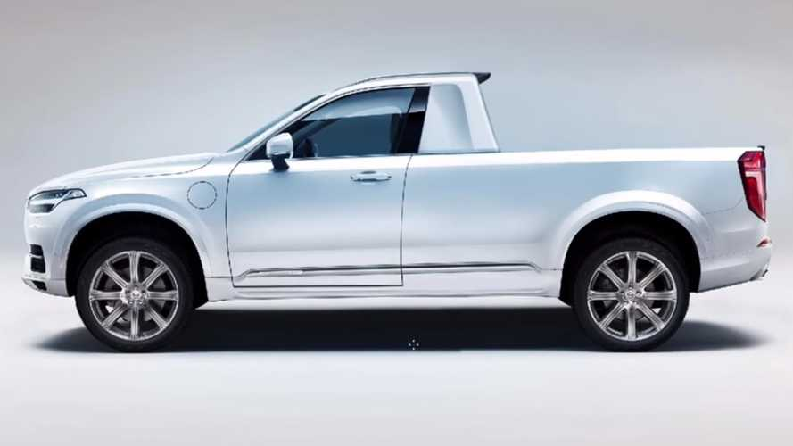 Volvo XC90 Pickup Rendered In Minutes By Talented Artist