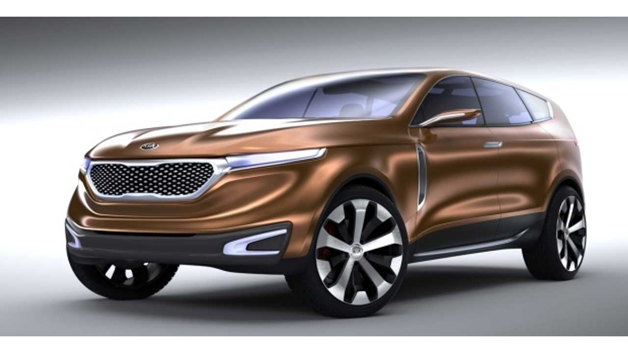 Kia Unveils Electrifying Cross GT Concept at Chicago Auto Show