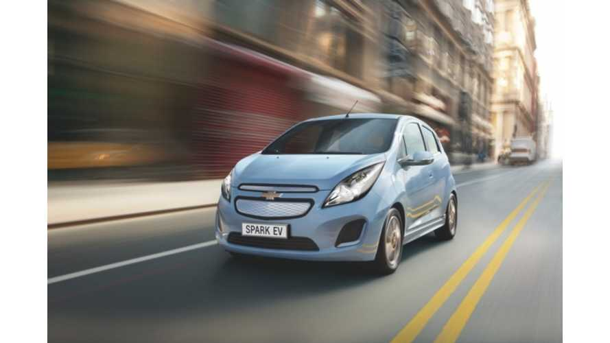 Chevy Spark EV to be Sold in Europe Too; Will Debut at Geneva Motor Show