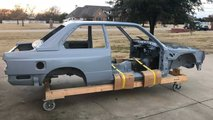 BMW M3 E30 body shell - $30,000