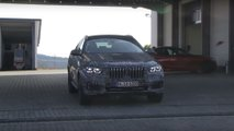 Nuova BMW X6 foto spia (screenshot)