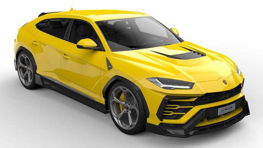 Lamborghini Urus Gets Bonkers Body Kit From Vorsteiner