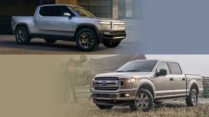 Ford F-150 Versus Rivian R1T Electric Truck: Let's Compare