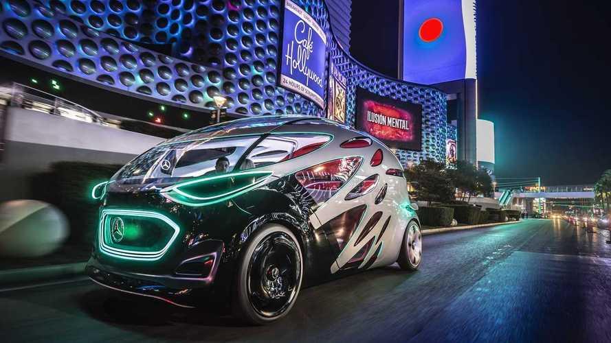 Mercedes'in geleceği Urbanetic, CES Fuarı'nda tanıtıldı