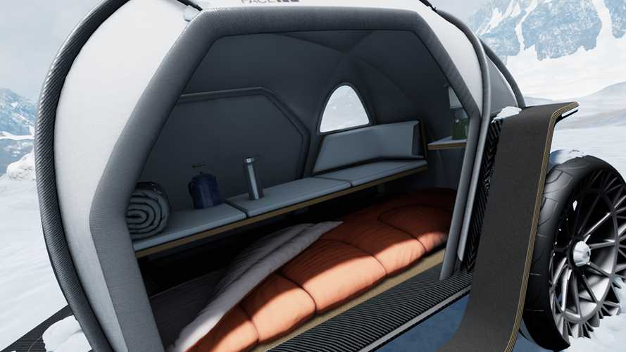 BMW/North Face Futurelight Camper Concept