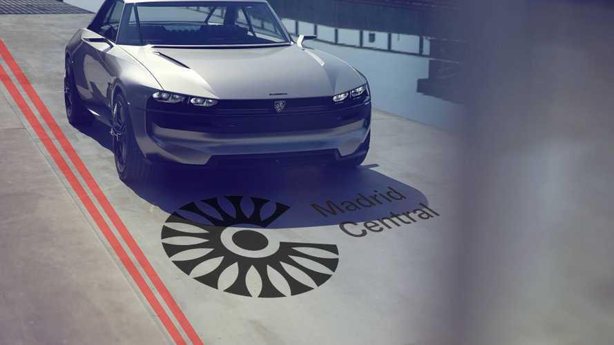 Peugeot e-LEGEND: nuestro coche eléctrico favorito para Madrid Central