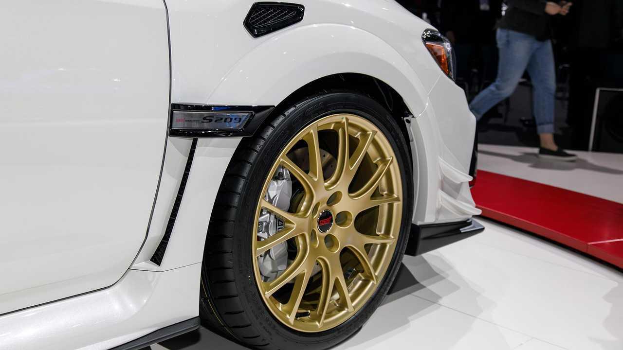 2019 Subaru STI S209 Live-Fotos