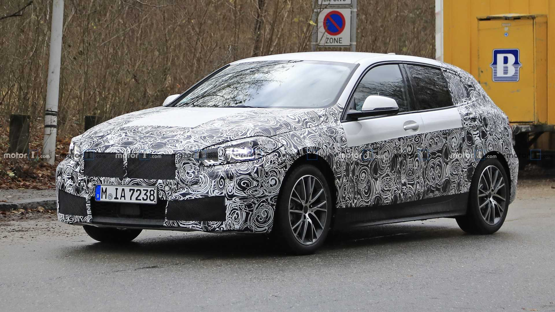 2019 Bmw 1 Series Spied With Production Body And Lights