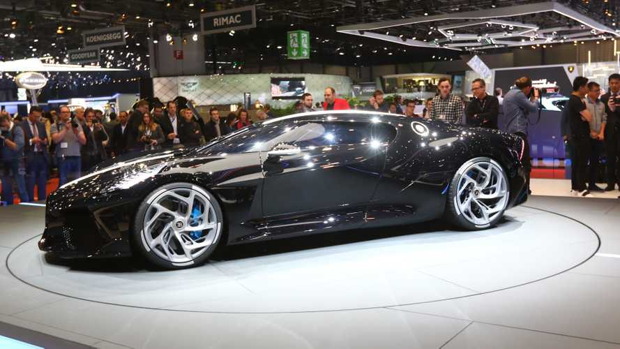 Bugatti La Voiture Noire Debuts: Most Expensive New Car Ever