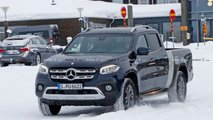 Mercedes-Benz X-Class Long Bed Spy Photos