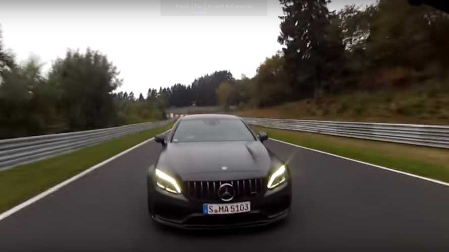 Hop On Board The Mercedes-AMG C63 S For A Nurburgring Lap