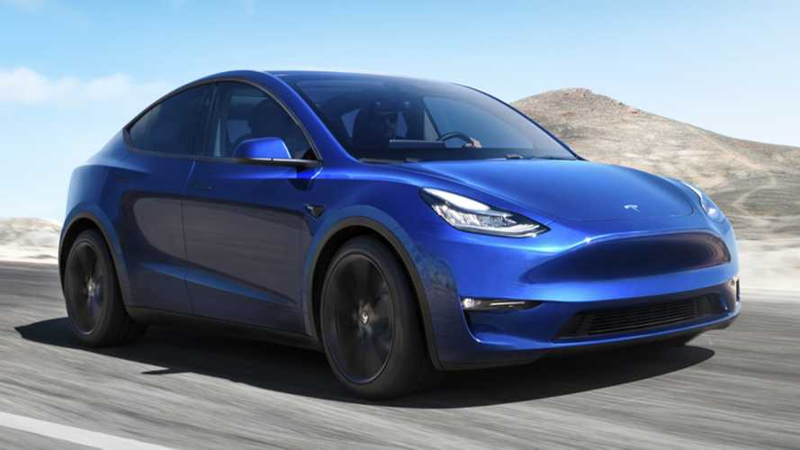 Tesla Model Y Spotted In Public For First Time Ever