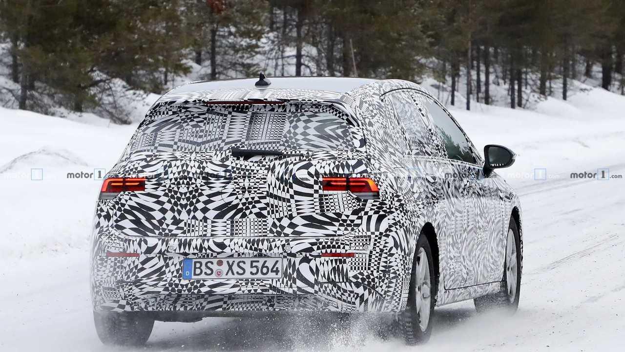 Fotos espía Volkswagen Golf 2019