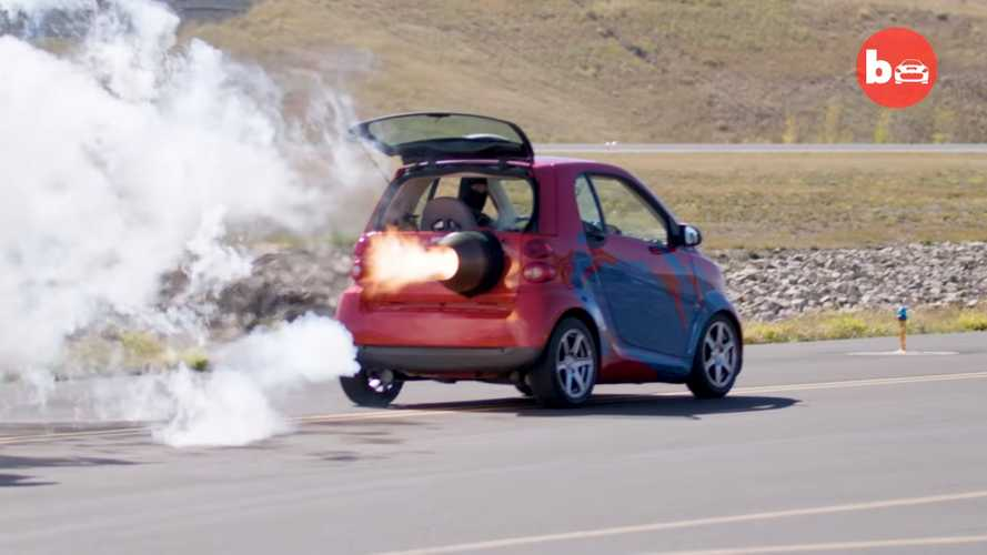 Jet powered Smart car