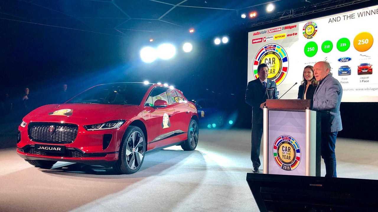 2019 Jaguar I-Pace Wins European Car of the Year
