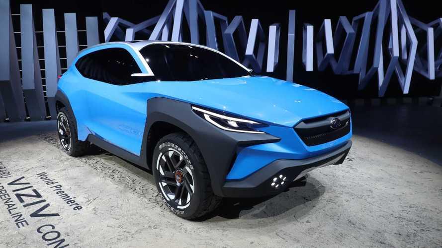 Látványos, ám rejtélyes tanulmány lett a Subaru Viziv Adrenaline