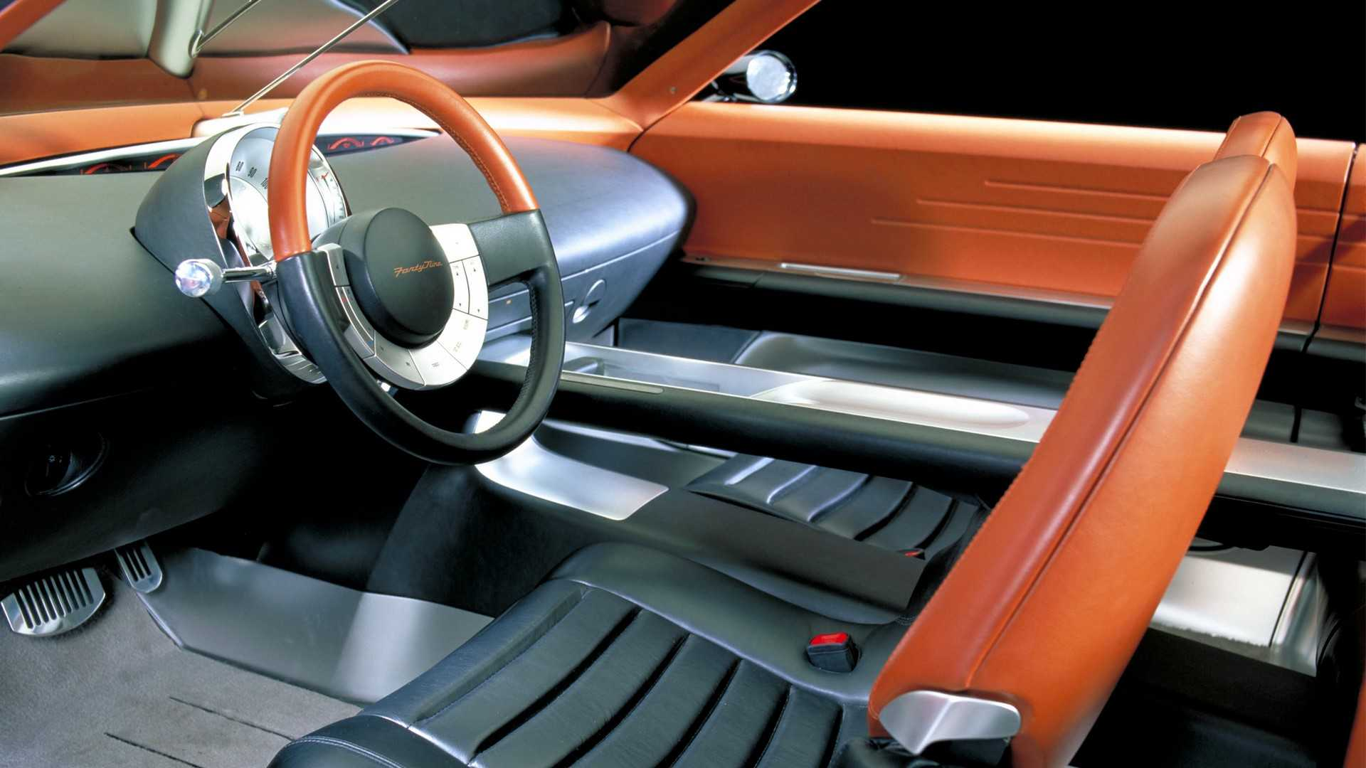 """[""""2001 Ford Forty-Nine concept""""]"""