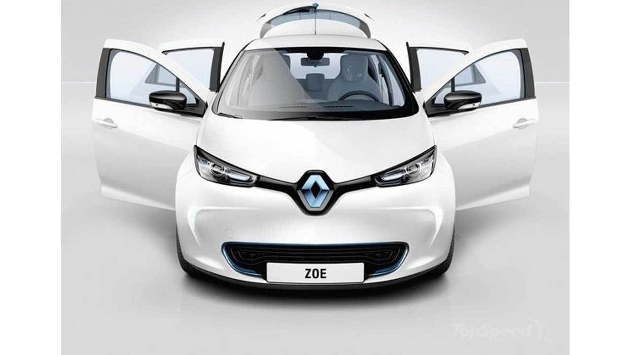 Renault to Supply French Group with 2,000 ZOE and 100 Fluence Z.E. Electric Vehicles