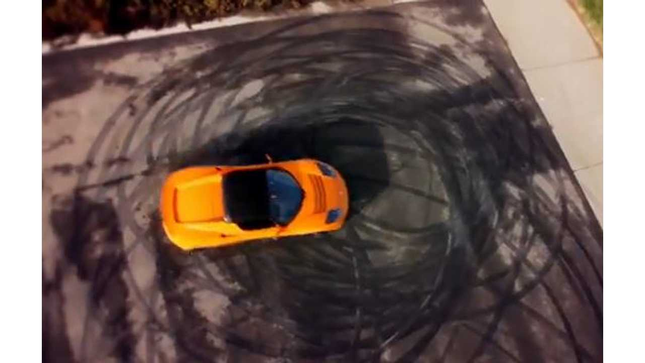 Tesla Roadster Spinning in Circles Would be Taxed Per Circle