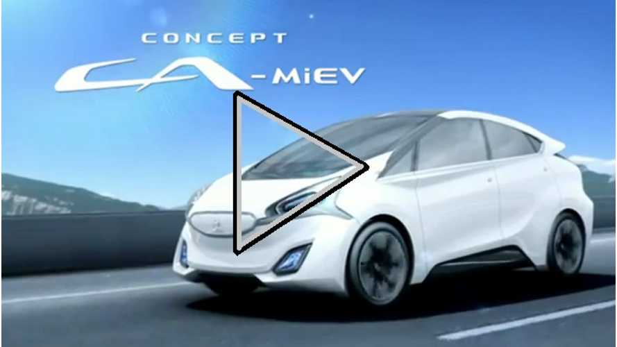 Video:  Mitsubishi Shows The New CA-MiEV In Action, And The Old i-MiEV As Well