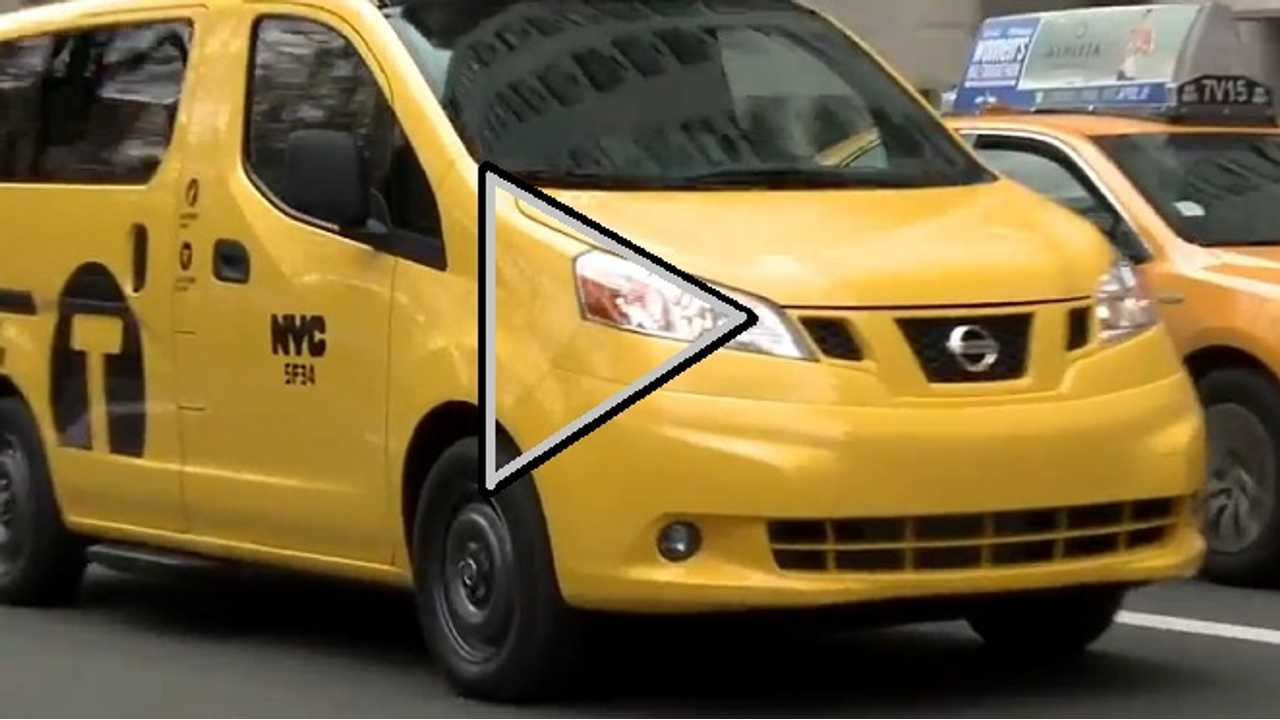 Video:  Take A Ride In The Taxi Of Tomorrow, Based On The Nissan e-NV200
