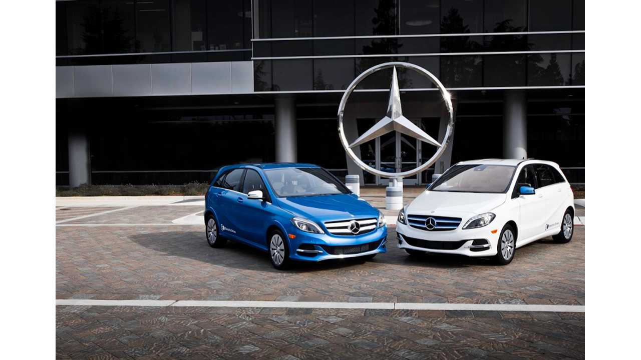 Kelley Blue Book Praises Mercedes-Benz B-Class Electric Drive