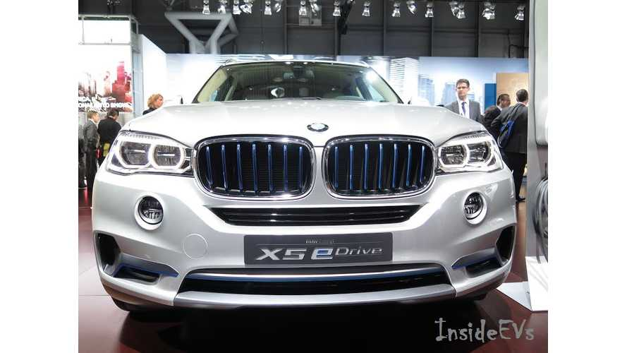BMW Tweaks Concept X5 eDrive For New York Auto Show Debut - Live Photos