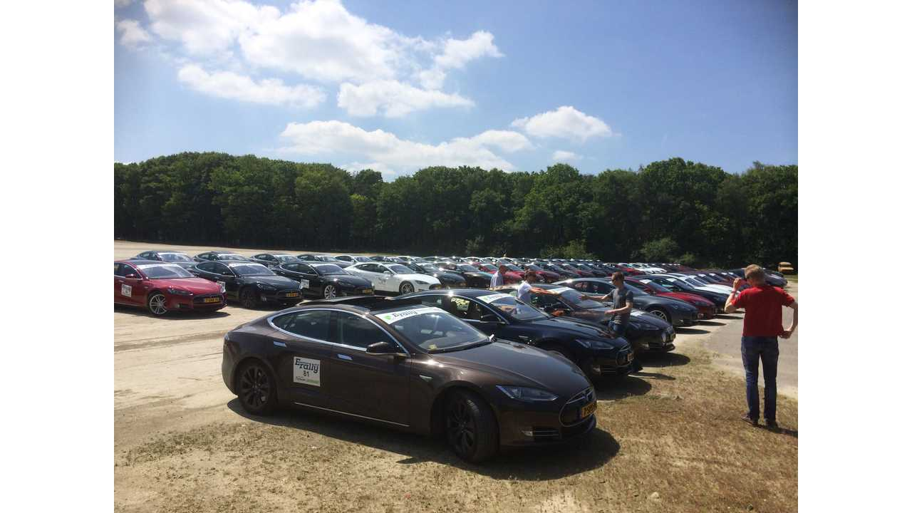 Over 100 EVs Participated In E-Rally In Netherlands And Belgium