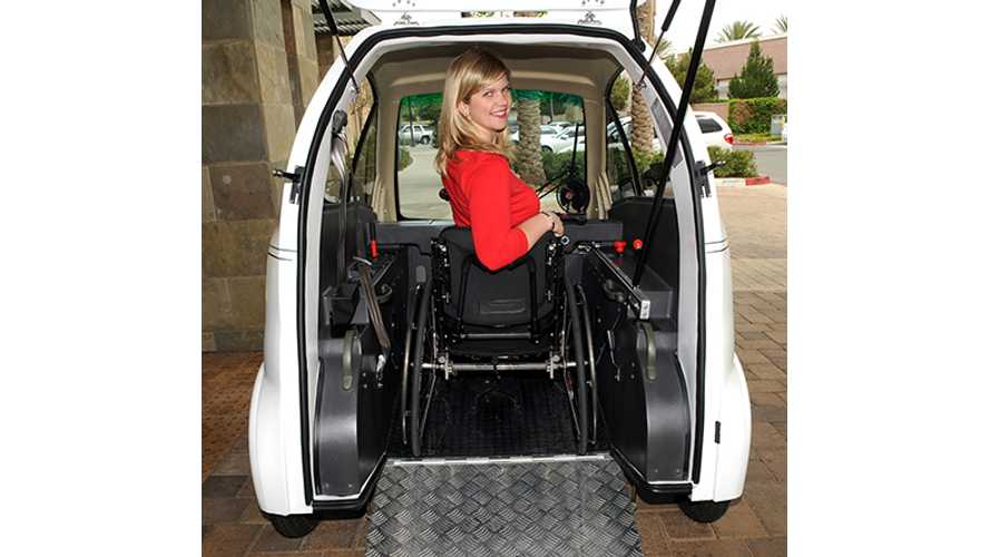 Chairiot Solo - $18,995 Electric Vehicle For Wheelchair Users