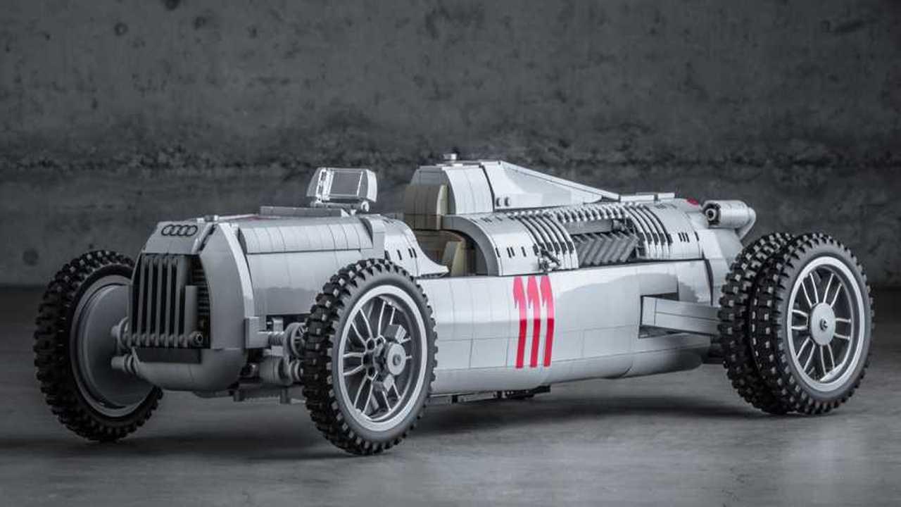 Lego Auto Union coche de carreras