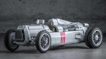El Auto Union de Lego es un auténtico juguete para adultos