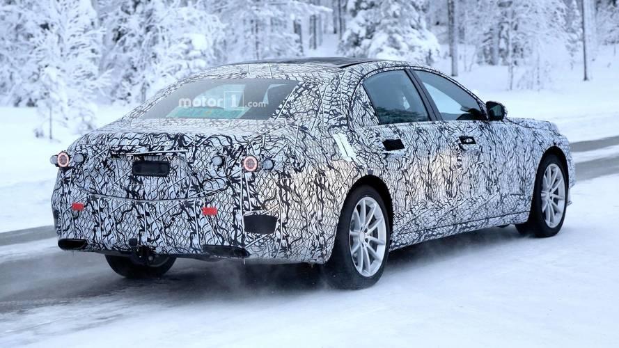 Yeni Mercedes-Benz S-Serisi Casus Fotoğrafları