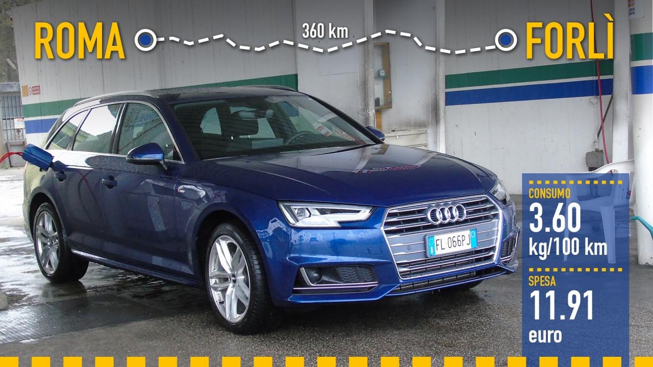 [Copertina] - Audi A4 Avant g-tron, la prova dei consumi reali
